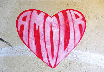 Photograph - Love Heart by Ethna Gillespie