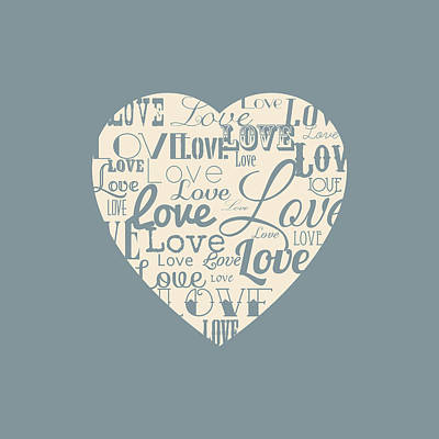 Love Heart Art Print