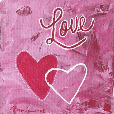 Love Hearts Original by Monique Morales