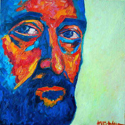 Art Print featuring the painting Love Him So Much by Ana Maria Edulescu