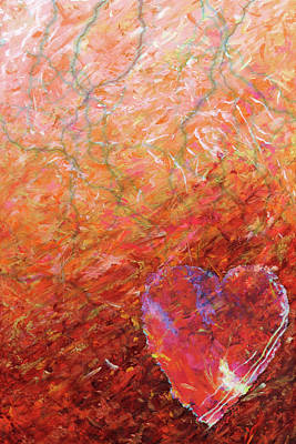 Love, Hope, And Compassion, For A Peaceful World Art Print