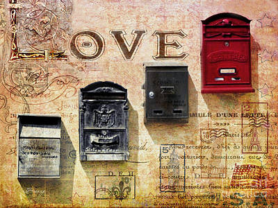 Photograph - Love In A Box by Jennie Breeze