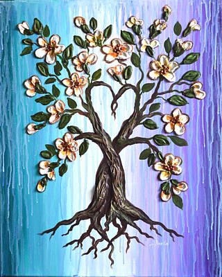 Painting - Tree Of Love by Agata Lindquist