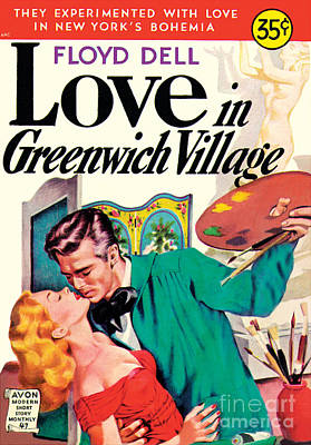 Painting - Love In Greenwich Village by Unknown Artist