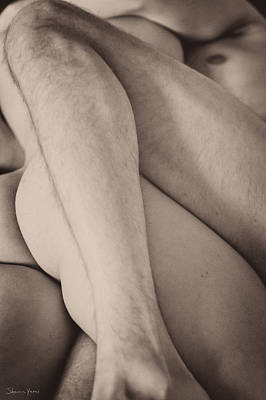 Erect Nipple Photograph - Love In Progress by Sharon Yanai