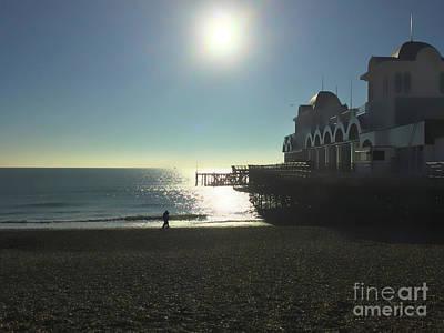 Digital Art - Love In Southsea by Andrew Middleton