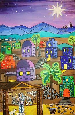 Love In The City Of David Art Print by Stephanie Temple