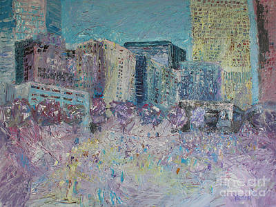 Love In The City Original by Robert Yaeger
