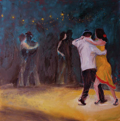 Painting - Love In The Spotlight by Keith Thue