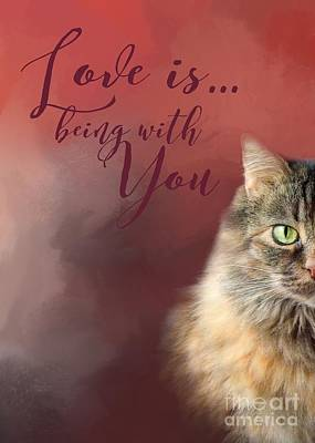 Photograph - Love Is Being With You by Renee Trenholm
