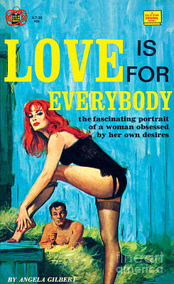 Painting - Love Is For Everybody by Barton