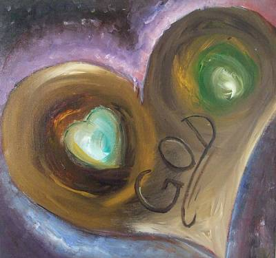 Godly Painting - Love Is From God by Freda Lade-Ajumobi