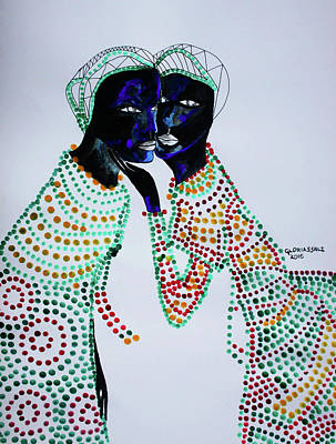 Painting - Love Is In The Air by Gloria Ssali