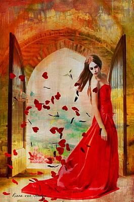 Love Is In The Air Art Print by Riana Van Staden
