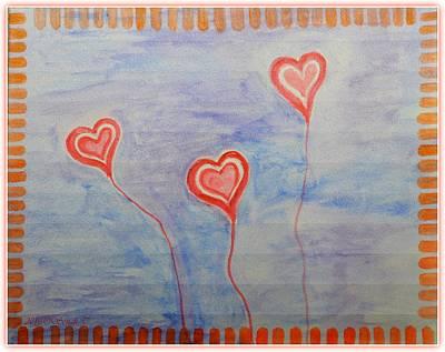 Bonding Painting - Love Is In The Air by Sonali Gangane