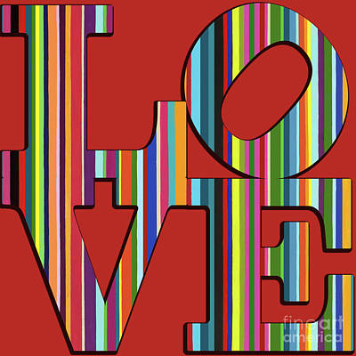 Mixed Media - Love Is Love by Carla Bank
