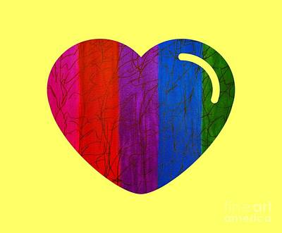 Painting - Love Is Love by Rachel Hannah