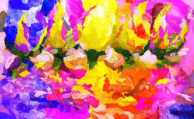 Love Is The Essence Of Spring - Painting Original by Sir Josef - Social Critic -  Maha Art