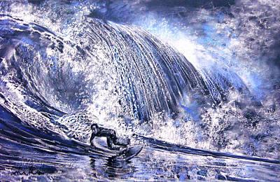 Love Is The Seventh Wave Art Print by Miki De Goodaboom