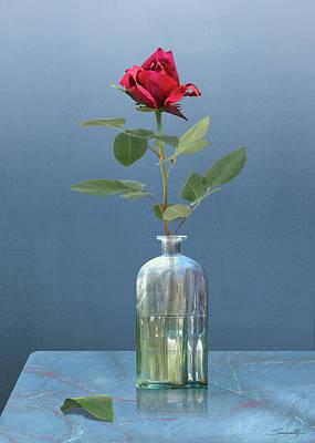Digital Art - Love It Is A Flower by IM Spadecaller