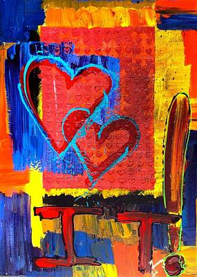 Painting - Love It by Richard Sean Manning