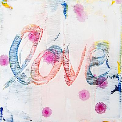 Painting - Love by Jocelyn Friis
