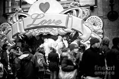 Photograph - Love by John Rizzuto