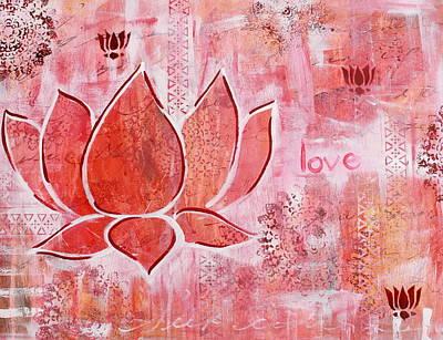 Ahimsa Painting - Love by Kayla Mallen
