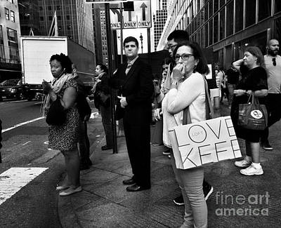 Photograph - Love. Keep. From The Streets Of New York.  by Miriam Danar