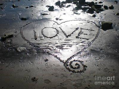 Love Art Print by Kim Prowse