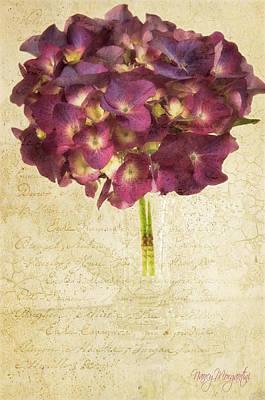 Photograph - Love Letter Two by Nancy Morgantini