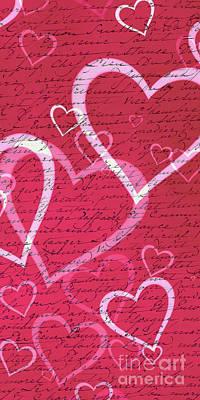 Love Letters Case Print by Edward Fielding