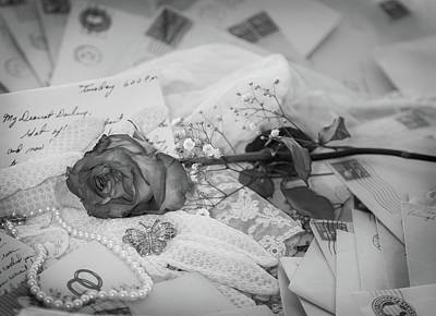 Photograph - Love Letters by Karen Wiles