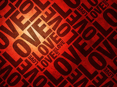 Heart Art Digital Art - Love Letters by Michael Tompsett