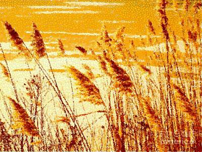 Photograph - Love Life And Golden Grass by Sybil Staples
