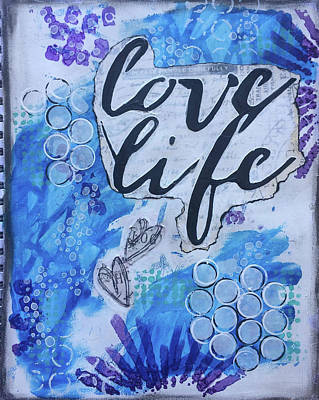 Painting - Love Life by Kv