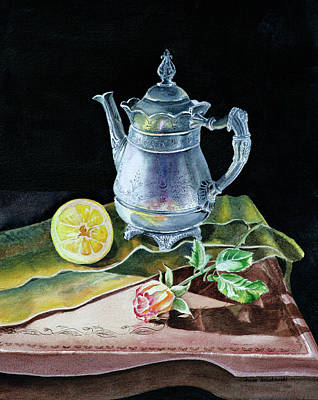 Painting - Love Light Lemon by Irina Sztukowski