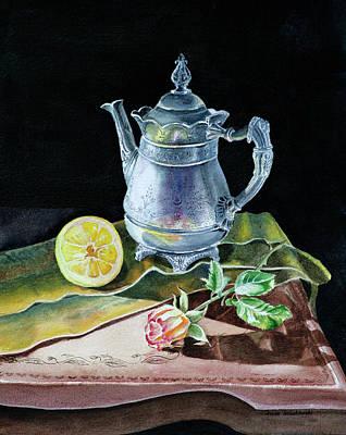 Painting - Love Light Lemon by Irina Sztukowski