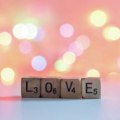 Photograph - Love Lights Square by Terry DeLuco