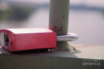 Photograph - Love Lock by John S