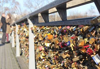 Photograph - Love Locked by Tara Lowry