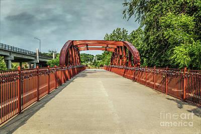 Photograph - Love Locks Bridge by Lynn Sprowl