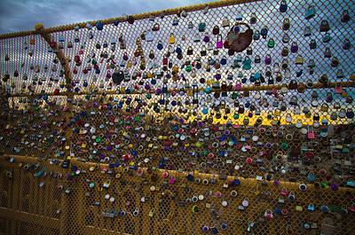Photograph - Love Locks by Daniel Houghton