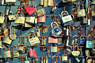 Photograph - Love Locks by John Magyar Photography