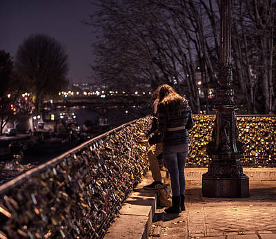 Photograph - Love Locks by Nisah Cheatham