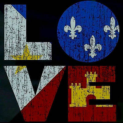 Photograph - Love Louisiana by Ronald Olivier