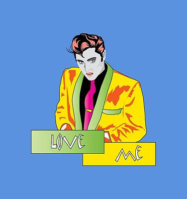 1950 Movies Digital Art - Love Me by Andy Donald
