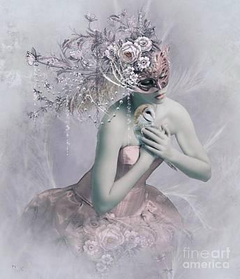 Digital Art - Love Me Tender by Ali Oppy