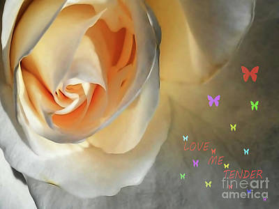 Digital Art - Love Me Tender by Jasna Dragun