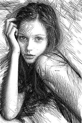 Youth Digital Art - Love Me Tender by Rafael Salazar